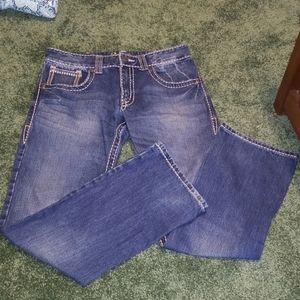 Men's Rock 47 Denim by Wrangler Jeans